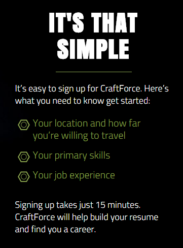craftforce its that simple